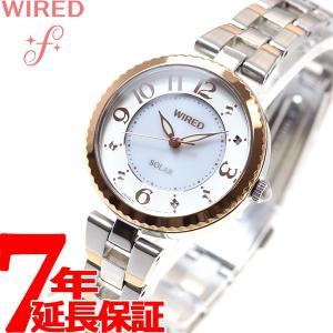 本日ポイント最大21倍! ワイアード エフ WIRED f ソーラー 腕時計 レディース AGED087 セイコー|neel
