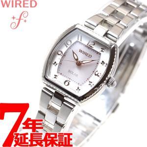 本日ポイント最大21倍! ワイアード エフ WIRED f ソーラー 腕時計 レディース AGED088 セイコー|neel