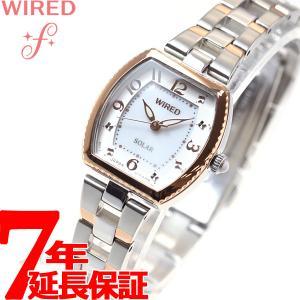本日ポイント最大21倍! ワイアード エフ WIRED f ソーラー 腕時計 レディース AGED090 セイコー|neel