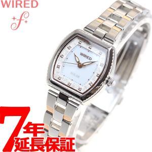 本日ポイント最大16倍! ワイアード エフ WIRED f 限定モデル ソーラー 腕時計 レディース AGED716 セイコー|neel