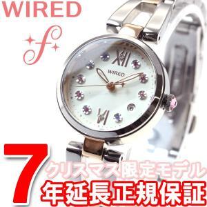 本日ポイント最大21倍! ワイアード エフ WIRED f クリスマス限定モデル 腕時計 レディース AGEK738 セイコー|neel