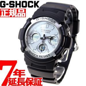 本日ポイント最大16倍! Gショック G-SHOCK 電波ソーラー 腕時計 メンズ 黒 ブラック AWG-M100S-7AJF ジーショック|neel