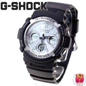 本日ポイント最大16倍! Gショック G-SHOCK 電波ソーラー 腕時計 メンズ 黒 ブラック AWG-M100S-7AJF ジーショック|neel|02