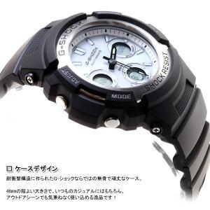 本日ポイント最大16倍! Gショック G-SHOCK 電波ソーラー 腕時計 メンズ 黒 ブラック AWG-M100S-7AJF ジーショック|neel|04