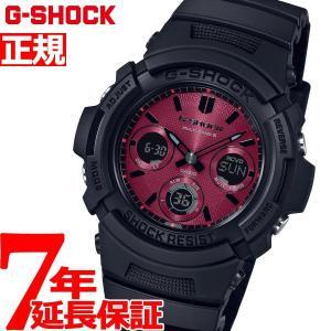 G-SHOCK 電波 ソーラー カシオ Gショック CASIO 腕時計 メンズ Black and Red Series AWG-M100SAR-1AJF