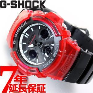 ポイント最大26倍! Gショック G-SHOCK 電波 ソーラー 腕時計 メンズ AWG-M100SRB-4AJF ジーショック|neel
