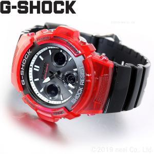 ポイント最大26倍! Gショック G-SHOCK 電波 ソーラー 腕時計 メンズ AWG-M100SRB-4AJF ジーショック|neel|02
