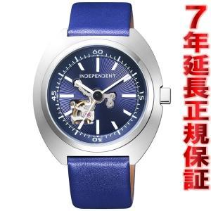 明日はダイヤ最大Pt26倍!プラチナ25倍!ゴールド24倍! インディペンデント 自動巻き 腕時計 メンズ BJ3-616-70 INDEPENDENT|neel