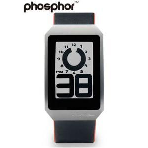 フォスファー 腕時計 PHOSPHOR メンズ デジタル E-ink 電子ペーパーウォッチ DIGITAL HOUR WATCH LEATHER レザー DH02|neel