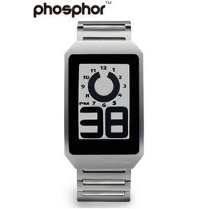 フォスファー 腕時計 PHOSPHOR メンズ デジタル E-ink 電子ペーパーウォッチ DIGITAL HOUR WATCH METAL DH03|neel