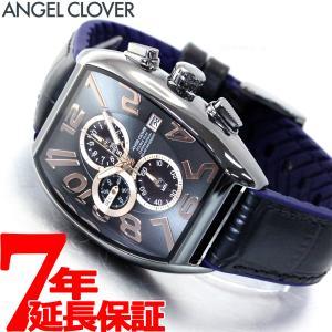 ポイント最大21倍! エンジェルクローバー 腕時計 メンズ ソーラー クロノグラフ DPS38GY-BK|neel