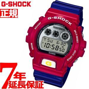 Gショック G-SHOCK トランスフォーマー マスターオプティマスプライム コラボ 腕時計 DW-6900TF-SET ジーショック|neel