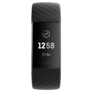 本日限定6%OFFクーポン付! ポイント最大12倍! Fitbit Charge3 フィットビット チャージ3 フィットネス トラッカー FB410GMBK-CJK|neel|04