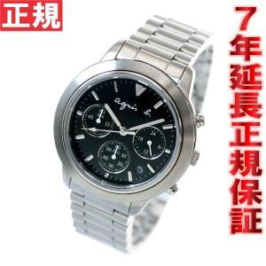 本日ポイント最大21倍! agnes b. アニエスb 腕時計 メンズ クロノグラフ FCRT989|neel