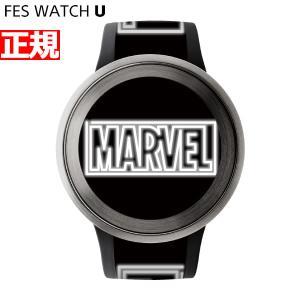 ポイント最大21倍! FES Watch U MARVEL Comics Sony 限定モデル 腕時計 ソニー フェスウォッチ シルバー FES-WA1-CO7/S neel