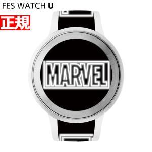 ポイント最大21倍! FES Watch U MARVEL Comics Sony 限定モデル 腕時計 ソニー フェスウォッチ ホワイト FES-WA1-CO7/W neel