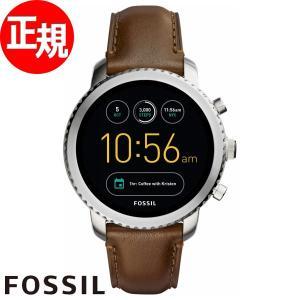 ランク別ポイント最大26倍!18日23時59まで! フォッシル FOSSIL Q スマートウォッチ 腕時計 メンズ FTW4003...