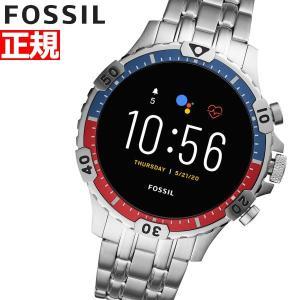 ポイント最大24倍! フォッシル FOSSIL スマートウォッチ 腕時計 メンズ FTW4040