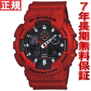明日「5のつく日」はポイント最大20倍! G-SHOCK ジーショック 腕時計 メンズ アナデジ GA-100B-4AJF|neel