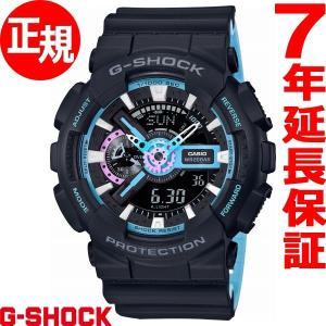 本日ポイント最大16倍! カシオ Gショック CASIO G-SHOCK 腕時計 メンズ GA-110PC-1AJF neel