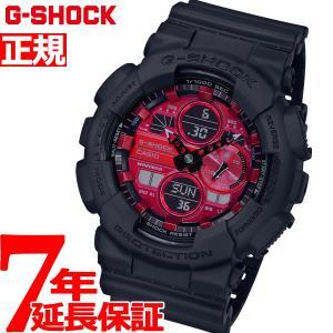 G-SHOCK カシオ Gショック CASIO 腕時計 メンズ Black and Red Series GA-140AR-1AJF
