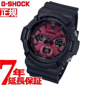 G-SHOCK 電波 ソーラー カシオ Gショック CASIO 腕時計 メンズ Black and Red Series GAW-100AR-1AJF