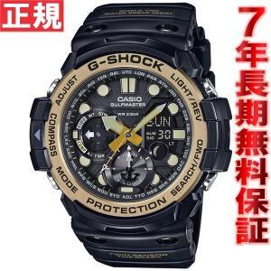 Gショック ガルフマスター G-SHOCK GULFMASTER 腕時計 メンズ 黒 ブラック&ゴールド GN-1000GB-1AJ