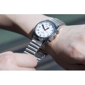 ポイント最大14倍! GRUS グルス 音声時計 ボイス電波 腕時計 メンズ レディース GRS003-01|neel|05