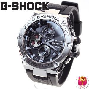 本日ポイント最大21倍!21日23時59分まで! Gショック Gスチール G-SHOCK G-STEEL ソーラー 腕時計 メンズ GST-B100-1AJF|neel|02