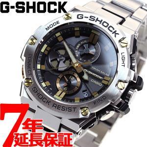 ポイント最大26倍! Gショック Gスチール G-SHOCK G-STEEL ソーラー 腕時計 メンズ GST-B100D-1A9JF|neel