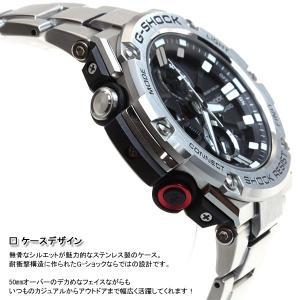 ポイント最大16倍! Gショック Gスチール G-SHOCK G-STEEL ソーラー 腕時計 メンズ GST-B100D-1AJF|neel|04