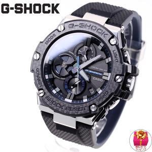 ポイント最大21倍! Gショック Gスチール G-SHOCK ソーラー 腕時計 メンズ GST-B100XA-1AJF|neel|02