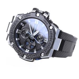 ポイント最大21倍! Gショック Gスチール G-SHOCK ソーラー 腕時計 メンズ GST-B100XA-1AJF|neel|09