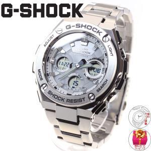 ポイント最大21倍! Gショック Gスチール G-SHOCK G-STEEL 電波ソーラー 腕時計 メンズ 白 ホワイト GST-W110D-7AJF|neel|02