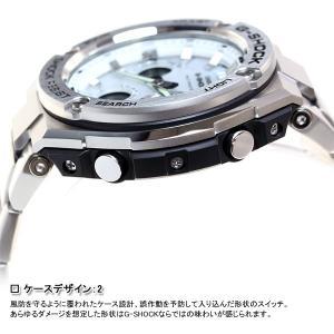 ポイント最大21倍! Gショック Gスチール G-SHOCK G-STEEL 電波ソーラー 腕時計 メンズ 白 ホワイト GST-W110D-7AJF|neel|05