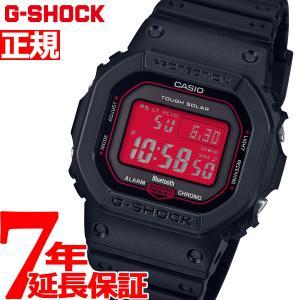 G-SHOCK 電波 ソーラー デジタル 5600 カシオ Gショック CASIO 腕時計 メンズ Black and Red Series GW-B5600AR-1JF