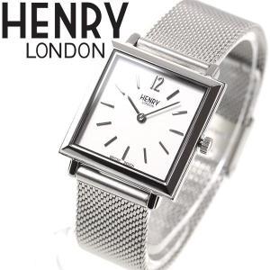 ポイント最大21倍! ヘンリーロンドン 腕時計 レディース スクエア HL26-QM-0265 HENRY LONDON neel