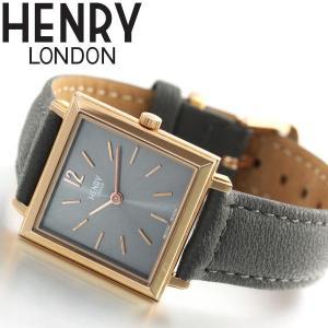 ポイント最大21倍! ヘンリーロンドン 腕時計 レディース スクエア HL26-QS-0262 HENRY LONDON neel