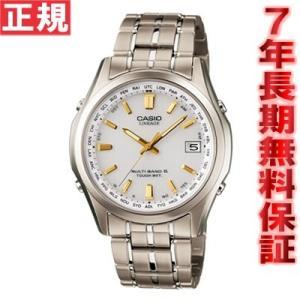 ソフトバンク&プレミアムでポイント最大20倍! カシオ腕時計 リニエージ LIW-T100TD-7AJF CASIO