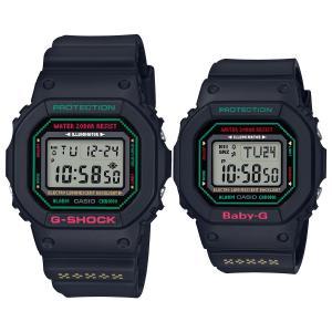 ポイント最大17倍&8%OFFクーポン!18日1時まで カシオ CASIO ラバーズコレクション2019 限定モデル G-SHOCK BABY-G 腕時計 ラバコレ LOV-19B-1JR|neel|02