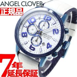 ポイント最大21倍! エンジェルクローバー 腕時計 メンズ LU44BNV-WH|neel