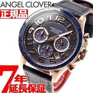 ポイント最大21倍! エンジェルクローバー ソーラー 腕時計 メンズ クロノグラフ LUS44P-NV ANGEL CLOVER|neel