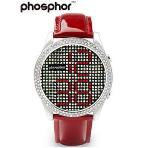フォスファー 腕時計 PHOSPHOR ユニセックス デジタル Appear RED MD002L|neel