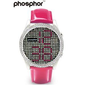 フォスファー 腕時計 PHOSPHOR ユニセックス デジタル Appear PINK MD003L|neel