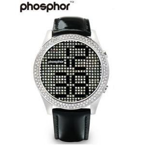 フォスファー 腕時計 PHOSPHOR ユニセックス デジタル Appear BLACK MD005L|neel
