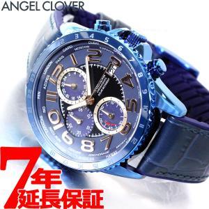 ポイント最大21倍! エンジェルクローバー 腕時計 メンズ ソーラー クロノグラフ MOS44NNV-NV|neel