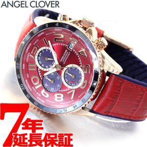 ポイント最大21倍! エンジェルクローバー 腕時計 メンズ ソーラー クロノグラフ MOS44PRE-RE|neel