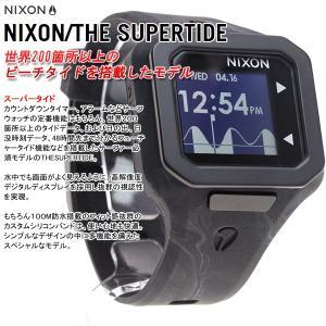 本日ポイント最大21倍! ニクソン(NIXON) スーパータイド SUPERTIDE 腕時計 メンズ NA3161611-00|neel|03