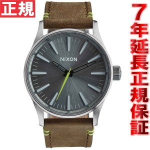 本日ポイント最大21倍! ニクソン(NIXON) セントリー38レザー SENTRY LEATHER 腕時計 NA3772290-00|neel