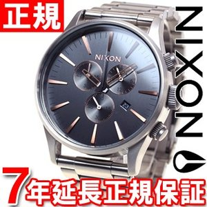 本日ポイント最大31倍!24日23時59分まで! ニクソン(NIXON) セントリークロノ SENTRY CHRONO 腕時計 メンズ クロノグラフ NA3862064-00 neel